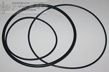 Riemensatz Grundig tk 46 stéréo rubber Drive Belt Kit