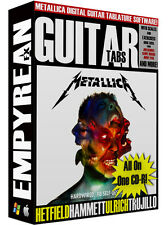 Metallica Hardwired To Self Destruct Guitar Tabs CD-R Digital Lessons Software