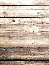 Wood Theme Vinyl Photography Backdrop Photo Studio Props Background 5X7FT ZZ28