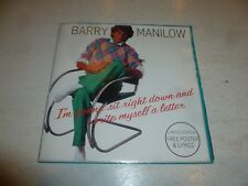 """BARRY MANILOW - I'm Gonna Sit Right Down And Write Myself A Letter - 1982 UK 7"""""""