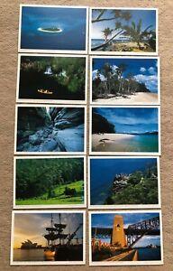 10 Ansichtskarten, Postkarten a. d. Harenberg- Kalender  AUSTRALIEN  Queensland