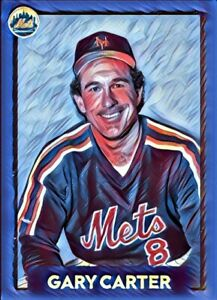 Gary Carter Custom Art Baseball Card