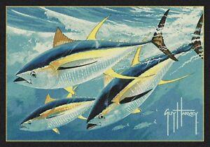 Milliken Guy Harvey Yellow Fin Tuna Area Rug
