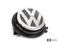 NEW GENUINE VW GOLF MK5 04-09 REAR TRUNK BADGE EMBLEM OPEN MECHANISM CHROME