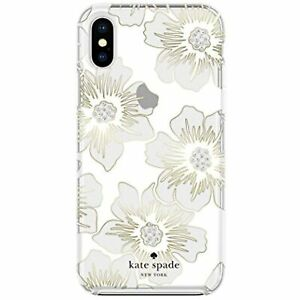 kate spade new york Reverse Hollyhock Case for iPhone X/XS - Defensive Hardshell