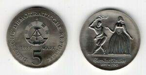DDR   5 Mark 1985   Caroline Neuber