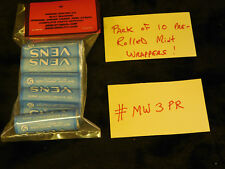 RERPO MINT WRAPPERS ROLLED ANTIQUE SLOT MACHINE #MW3PR BLUE VENS ROLLED