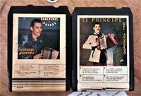 SANTIAGO JIMENEZ 2 8 TRACK TAPES (LATIN MUSIC TEXMEX)