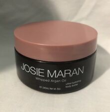 JOSIE MARAN WHIPPED ARGAN OIL HYDRATING BODY BUTTER UNSCENTED 8 oz ~ NWOB