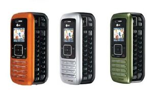 LG enV VX9900 - Orange Silver Green (Verizon) Phone Must Read