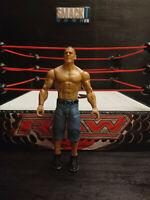 WWE JOHN CENA WRESTLING FIGURE BASIC SERIES MATTEL RUTHLESS HOLLYWOOD KID TOY