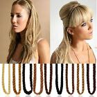 Girls Synthetic Hair Band Plaited Plait Elastic Bohemia Braids Headband Hairband