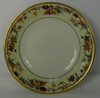 HAVILAND china AUTUMN France Schleiger 495 Coupe Cereal or Dessert Bowl - 6-1/8""