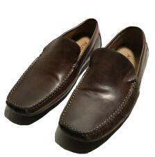 Aldo Men's Brown Leather Driving Shoes Moccasins Loafers Sz 10.5 US EUC!