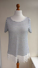 George Hip Length Polyester Striped Tops & Shirts for Women