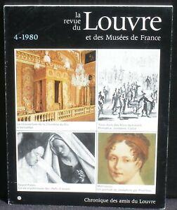 Revue du Louvre 4 1980 TBE