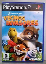 VECINOS INVASORES - PLAYSTATION 2 - PAL ESPAÑA - COMPLETO