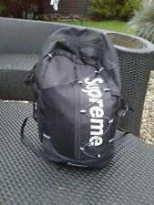 Black SUPREME Cordura Rucksack Carry Holdall Bag
