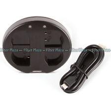 Dual Battery Charger for Nikon EN-EL15 V1 D500 D750 D7100 D810 D7200 D800A MH-25