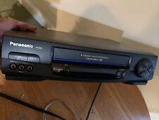 Panasonic Pv-9451 4-Head Stereo Hi-Fi Stereo Vcr Vhs Player/Recorder + Remote.