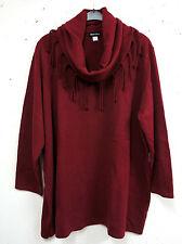 Damen-Pullover & -Strickware mit Wasserfall-Ausschnitt aus Acryl ohne Verschluss