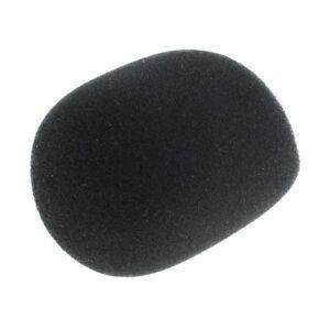 Mini-Mikrofon Headset Windschutzscheibe f/ür Unterricht 20 St/ück Schaumstoff Mikrofon Mic Mikrofon Windschutz Abdeckung Schwarz treffen B/ühnenperformance