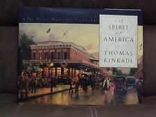 The Spirit of America by Thomas Kinkade (1998, Hardcover, Large Type)