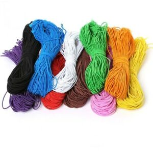 25m Rope Cord Thread Elastic Beading Rubber Band Bracelet Sewing Accessories 1mm