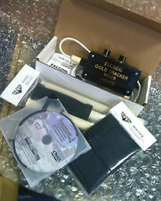 FALCON MD20 METAL DETECTOR + Holster & Handle + How 2 DVD BRAND NEW IN BOX