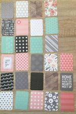 """Project Life Cards Becky Higgins Cottage Living Edition 69 Karten 3x4"""" Set 2"""