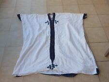 antique vintage Ethiopian Dress Handmade cotton Traditional embroidery silver