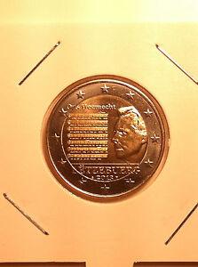 2 EURO LUXEMBOURG 2013 HYMNE COMMEMORATIVE NEUVE DISPO