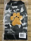 Dog Sweater Size Small Gray Camouflage With Paw Print