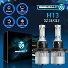H13 9008 LED Headlight bulbs Hi/Lo Beam 2000W 6500K For Ford F-150 04-2014 F-250