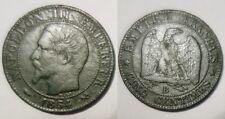5 Centimes Napoléon III 1854 B Rouen !!