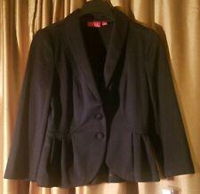 Elle Black Jacket (Size Small)
