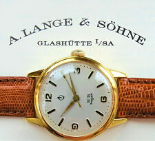 A.Lange & Söhne Glashütte GUB Cal.28 Güteuhr Q1 Vintage Men's Watch 1950 Service