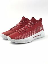 cb98ddcf85e Under Armour Men s Heat Seeker Wisconsin Collegiate Pack Basketball Shoes  ...