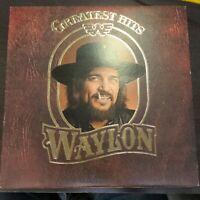 Record Album Waylon Jennings Greatest Hits LP VG