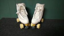 Roller figure skates Elite Edea indoor outdoor Roll Line wheels Yellow Plates!