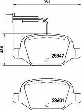 MINTEX MDB3204 BRAKE PAD SET DISC BRAKE Rear