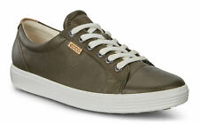 Ecco Women's Sneakers Soft 7 Deep Forest Metallic Leather Lace Up Sz 37 - 41 NIB