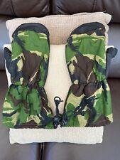 British Army extreme Cold Weather Goretex Inner Mittens Woodland DPM Warm Camo M