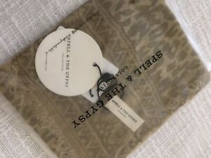 spell and the gypsy Scarf Leopard Print BNWT