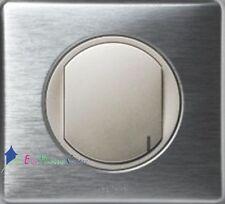 Interrupteur récepteur 2500w Céliane métal aluminium 67233+68471+80251+68921
