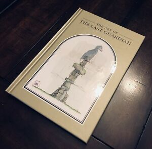 The Last Guardian Collectors Limited Edition Hardcover Art Book (NO GAME) PS4
