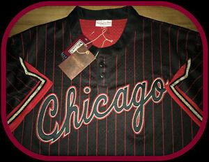 CHICAGO BULLS MITCHELL & NESS HARDWOOD CLASSIC 6 RINGS JERSEY ADULT MEDIUM