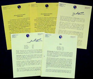 4 Original RAMONES Vintage SIRE RECORDS 1980's Press Releases JOHNNY JOEY MARKY