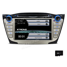 For Hyundai ix35 Tucson In Dash 2 Din Car Stereo Radio DVD Player GPS Navigation