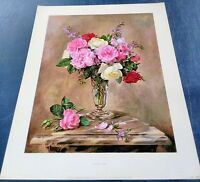 Fragrant Roses print by Albert Williams 1979 brand new